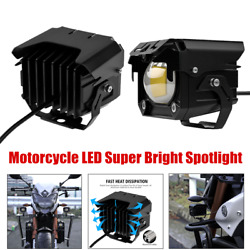 2andtimesmotorcycle Led Spotlight Work Light Driving Fog Spot Lamp W/button Switch 60w