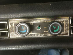 Mercedes W108 109 111 112 Etc Complete A/c And Heat System. Blue No Cracks