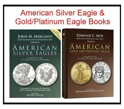 Reference Guide American Silver Eagles And Gold/platinum Eagles Coins 2 Books Deal