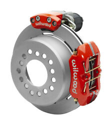 Wilwood Disc Brakes,rear,electronic Parking,big Ford New,2.50,11 Rotors,red