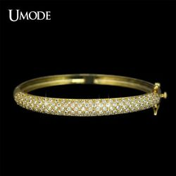 UMODE Luxurious Party Jewelry Gold-color 129 pcs 0.03ct Cubic Zircon simulated