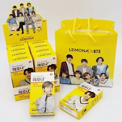 Lemona Vitamin C Bts Edition Collectible Box Cutout Stand 100pcs With Extra Bags