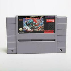 Street Fighter Ii 2 - Super Nintendo Snes Game Tested + Working And Authentic
