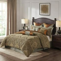 Hampton Hill Canovia Springs Queen Size Bed Comforter Duvet 2-in-1 Set Bed In A