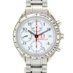 Gents Omega Speedmaster 35152000 2016 Retro Edition Of The 2004 Olympic Watch