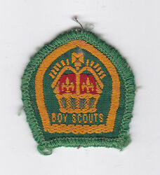 1940's United Kingdom / British Scouts - Rover King's Scout Top Rank Badge Lgr