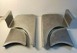 Chevrolet Chevy Gmc Coe Running And Fender Step Plates Metal 1939 - 1946 Smooth