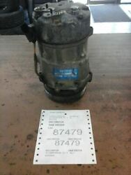 Ac Compressor City Canada Only Fits 00-07 09-11 Jetta 104574