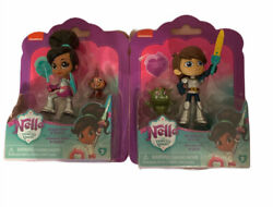 Nickelodeon Nella The Princess Knight And Sir Garrote Figure New