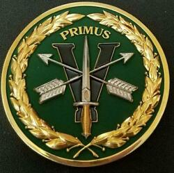 Us Army 5th Sfg A 5th Special Forces Group Airborne Primus Challenge Coin