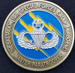 Us Army 1/19th Sfg A 1st Battalion 19th Special Forces Group Airborne Master