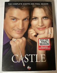 Castle The Complete Eighth Season Dvd, 2016, 5-disc Set New And Sealed Bin 1