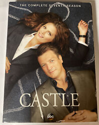 Castle The Complete Seventh Season Dvd, 2015, 5-disc Set New And Sealed Bin1