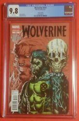 Wolverine 310 Cgc 9.8 White Pages Variant Edition By Stephen Platt 1100 Rare✔