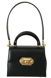 Dolce And Gabbana Bag Welcome Purse Black Leather Crossbody Purse Women Rrp 2700