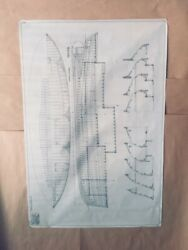 California Yachts 1930 Architectural Drawings C D Mabry 41x28 Orig.