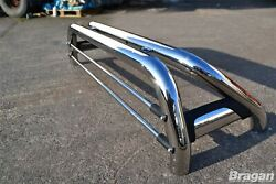 Roll Bar For Fiat Fullback 2016+ Polished Stainless Steel Pickup Accessories 4x4