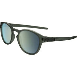 NEW Oakley Sunglasses Latch Matte Olive Ink Emerald Iridium $87.99
