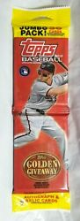 2012 Topps Update Jumbo 36 Cards Trout Harper Autos Relics Possible New New New