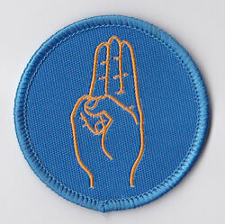 Girl Guides Scouts Of Hong Kong - Hk Girl Guides Gg Salute Patch