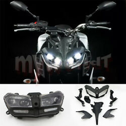 Fit For Yamaha Mt09 Fz09 Mt-09 2017-2020 Motorcycle Motorbike Headlight+fairing