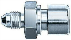 Aeroquip Fitting Adapter Straight 3an Male 10mmx1.00 Female Steel 2x Fcm2945