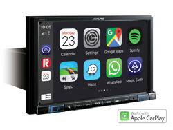 Alpine X803dc‐u 8andrdquo Navigation With Tomtom Maps Apple Car Play Truck Map