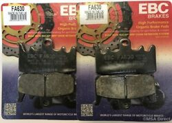 Ebc Organic Front Disc Brake Pads 2 Sets Fits Can Am Spyder 2013 To 2021