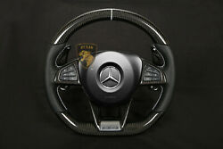 Mercedes Steering Wheel Glc63 C253 Coupe  Carbon  Made In Germany ,