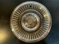 1963 1964 Oem Gm Caddie Cadillac Coupe Deville Fleetwood Hubcap Wheel Cover
