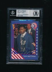 1992 Wild Card Decision Rodney King Law Order Signed Autograph Blm Bas Beckett