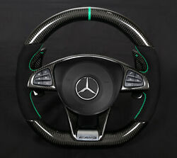 Mercedes Steering Wheel S63 W217 Carbon  Made In Germany .