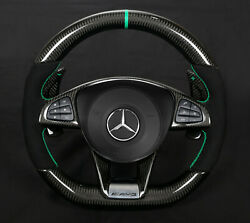 Mercedes Steering Wheel Gle63 W166 Carbon  Made In Germany .
