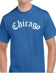 Chicago Old English T Shirt Arch Windy City ChiTown Thug Chitown Tee All Colors