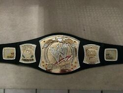 Autographed By John Cena, Authentic Wwe Championship Replica Adult Spinner Belt