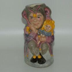 D6910 Royal Doulton Toby Jug The Jester Limited Edition With Certificate Uk Made