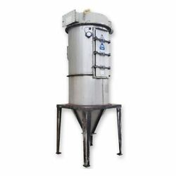 Used 1100 Cfm 162 Sq. Ft Kice Stainless Steel Filter Receiver Hr24-6h