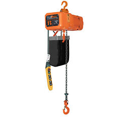Prowinch 1 Ton Electric Chain Hoist 20ft Lifting Height G80 Chain Water Resistan