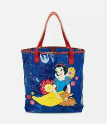 Disney Store Snow White Swim Bag Tote Girls Purse Blue Red Disney Princess $13.95