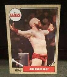 Bronze Border WWE Raw Sheamus #36 Card
