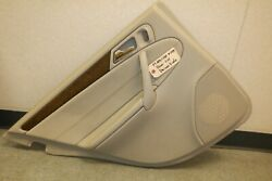 2007 Mercedes-benz C230 W203 Rear Lh Driver Side Door Panel Oem Used A2037308562
