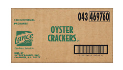 Lance Oyster Crackers 300 Individual Packages Crispy Pantry Enhances Soup Salads
