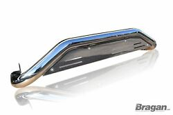 Rear Bumper Guard For Ford Ranger 2016+ Polished Stainless Steel Skid Plate 4x4