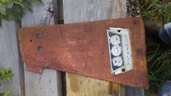 International Farmall 806 Ihc High Crop Tractor Front Right Side Panel And Emblem