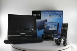 Sony Portable Blue-ray Dvd Player 9-in High-res Lcd Ntsc Bdp-sx910/l