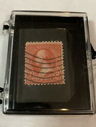 1894 Red Sc 249 Mint Two Cents Washington 2c Rare Us Stamp