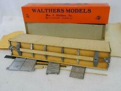 Walthers Vintage O Gauge 50' Auto Car 3830 Partially Assy Kit W/instructions