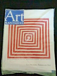 2 Art And Antiques Magazine 2008 Collector's Sourcebook Susquehanna Painters Quilt
