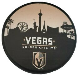 Vegas Golden Knights Rare Limited Edition 🏙 Skyline Official Hockey Puck Nhl