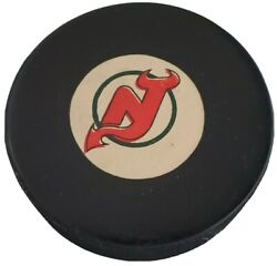1982-83 New Jersey Devils Approved Nhl Official Game Puck Vintage Viceroy 🇨🇦